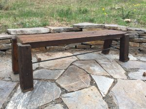 Large Patio Bench
